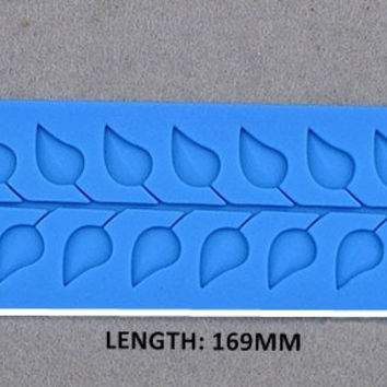 Silicone Lace Fandont Mold DIY Cake Decorating Mould Leaves Pattern pastry Molds Cake Baking Tools