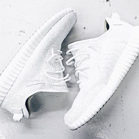 Indie Designs Kanye West Favorite White Yeezy 350 boost