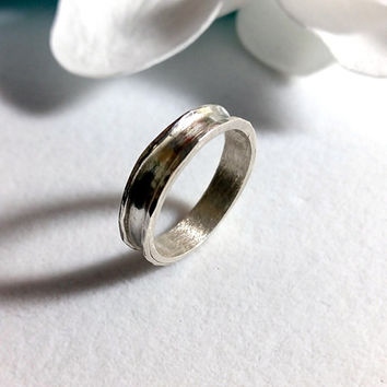 Band ring,simple band ring,stacking silver ring,wedding band,solid ring,rings,Unique Ring,groom,statement ring,for men,stacking ring