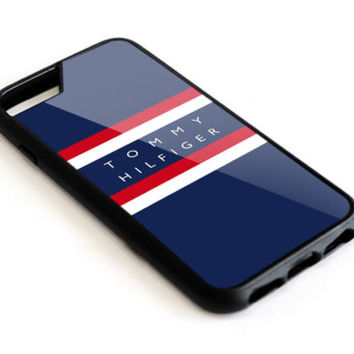 Tommy Hilfiger Logo Fashion For iPhone 6 6s 7 8 Plus Hard Plastic Protector Case