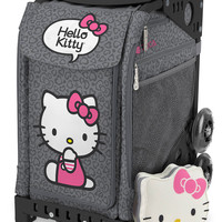 Zuca Sport - Hello Kitty Leopard Insert & mini pouch Wheeled Skate Bag
