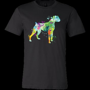 Pet - Watercolor Love Dog Paint - Men Short Sleeve T Shirt - TL00754SS