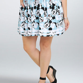 Disney Mickey Minnie Collection Mickey Shirred Skirt