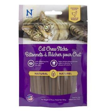 N-Bone Dental Chew Cat Treats Sticks 3.74 oz