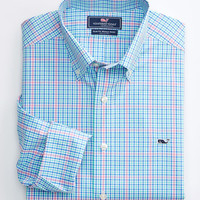Vineyard Vines - Slim Fit Sandy Point Plaid Whale Shirt