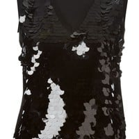 Moschino Cheap & Chic sequinned tank top