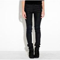 Oak |  surface to air black coated denim legging