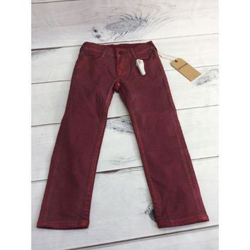 True Religion Casey with Metalic Flame Baby Jeans Size 4