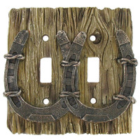 Horseshoe Double Switch Plate Cover | Hobby Lobby