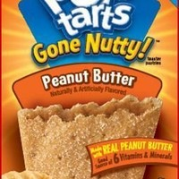 Kellogg's Pop-Tarts Gone Nutty Toaster Pastries - Peanut Butter - 10.5 oz - 6 ct