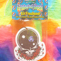 Grateful Dead Space Your Face Air Freshener deadhead hippie