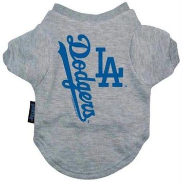 ONETOW Los Angeles Dodgers Dog Tee Shirt