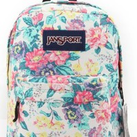 Vintage Floral Jansport Backpack Uban Hipster Unisex