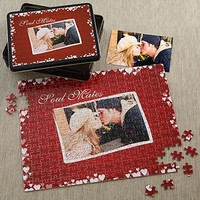 Pieces of Love Personalized Photo Puzzle - Valentine's Day Gifts - Valentine's Day Gifts