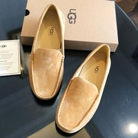 UGG hot selling women steamed stuffed bun shoes men breathable tide shoes comfortable casual leather shoes