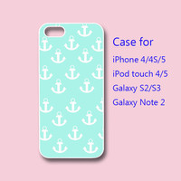 Anchor - iPhone 4 case, iPhone 5 case, ipod touch case , galaxy s3 case , galaxy note 2 case
