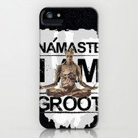 Námaste I am Groot iPhone & iPod Case by Daniac Design
