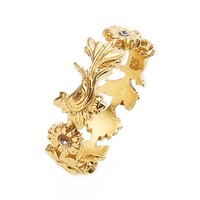 Women's Virgins Saints & Angels 'Captain Hook - Treasure' Ring - Gold