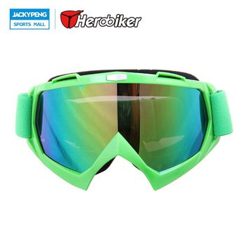 New Motocross Off-Road Dirt Bike Glasses Eyewear Ski Snow Snowboard Snowmobile Motorcycle Goggles Color Lens Goggles Snowboard