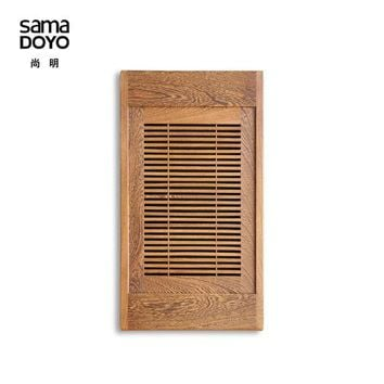 Teasaga Samamoko High End African Wenge Tea Tray Solid Wood Tea Table With Water Pallet