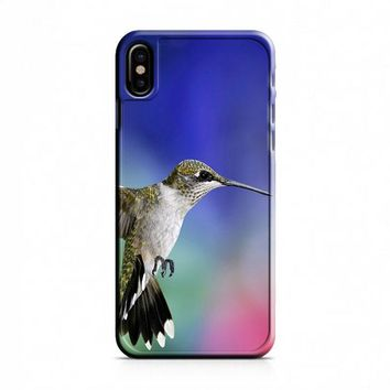 Hummingbird iPhone X Case