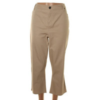 Style & Co. Womens Flat Front Stretch Capri Pants