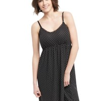 Bump In The Night Nursing Nightgown- Dot Print