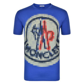 Pixel Smudge T-Shirt by Moncler