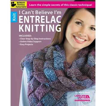 Leisure Arts-I Can't Believe I'm Entrelac Knitting