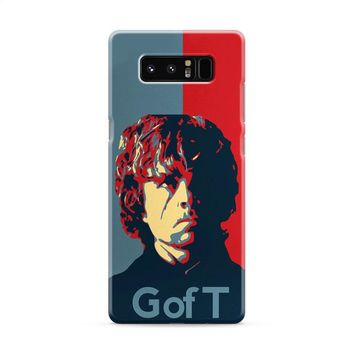 Tyrion Lanister Game of Thrones Inspired Samsung Galaxy Note 8 Case