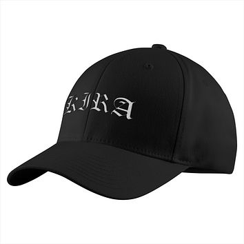 Death Note Kira White Symbol Structured Twill Cap - PF00326TC
