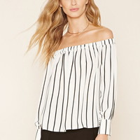 Contemporary Stripe Top