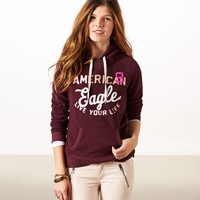 AEO Women's Graphic Resort Hoodie