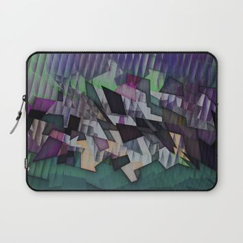 Storm over the country Laptop Sleeve by Jeanette Rietz