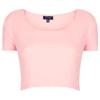 Basic Crop Tee - Jersey Tops  - Clothing