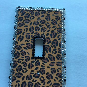 Leopard Print Switchplate