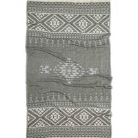 Turkish-T - Aztec Beach Towel | Black