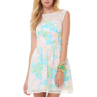 Morrison Lace Overlay Dress - Lilly Pulitzer