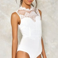 Night After Night Lace Bodysuit