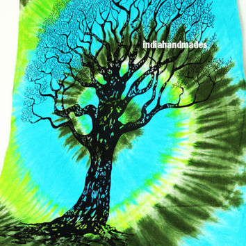 tie dye tapestry throw diy tree tapestry boho bohemian tie dye tapestry bedding