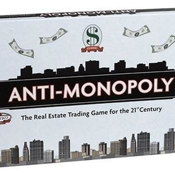Anti-Monopoly Board Game