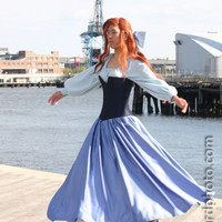 The Little Mermaid Ariel's Blue Town Dress
