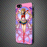 CashCases - Beautiful Pink Sailor Moon - iPhone 4/4s, 5, 5s, 5c, Samsung S3, S4