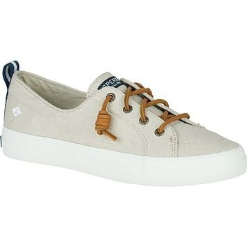 Women's Crest Vibe Sneaker in Oat by Sperry