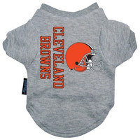 Cleveland Browns Dog Tee Shirt - Extra Large