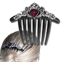 Claddagh Hair Comb - AG-HC3 by Medieval Collectibles