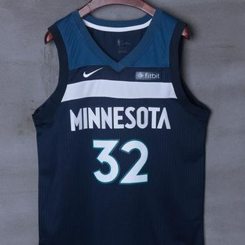 Minnesota Timberwolves #32 Karl-Anthony Towns Nike Icon Edition NBA Jerseys - Best Deal Online