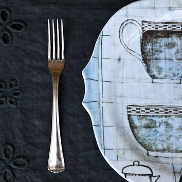 Tazze - Printed Glass Dinner Set