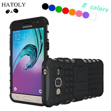 HATOLY For Cover Samsung Galaxy J3 Case Hard Rubber Silicone Phone Case for Samsung Galaxy J3 Cover for Samsung J3 J310 J310F *<