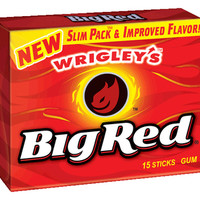 Wrigley's Big Red Gum Slim Packs: 10-Piece Box
